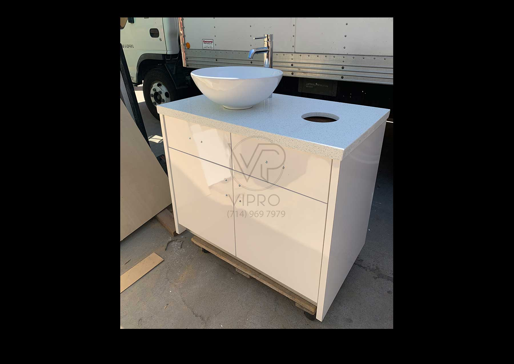 Single Sink Cabinet