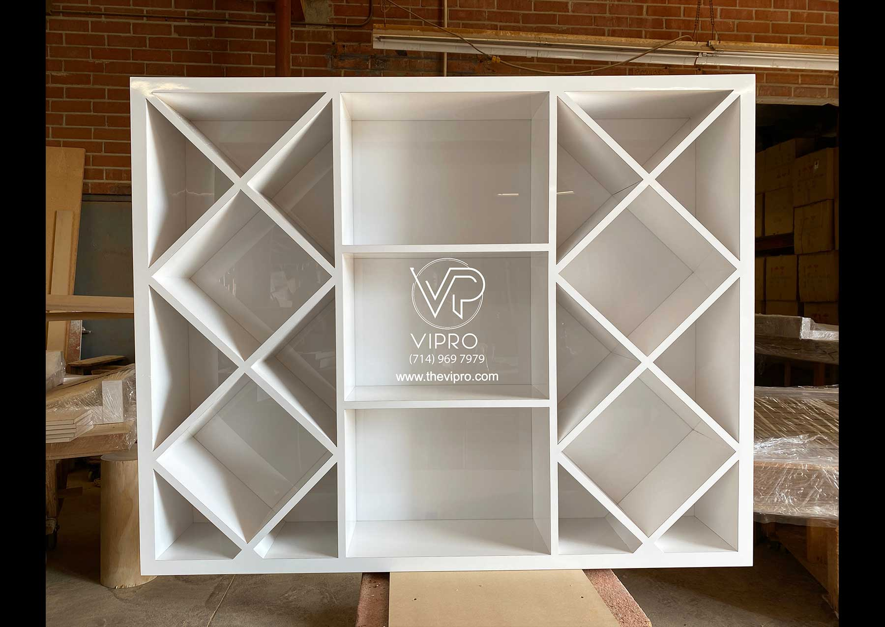 Wine Display Case